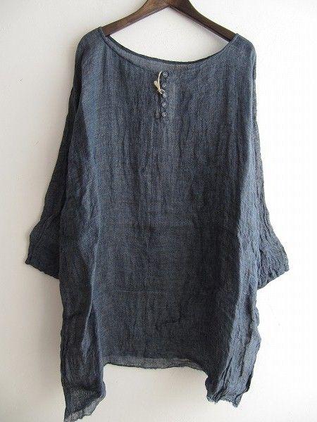 breezy linen tunic