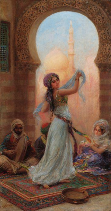 Harem dancer