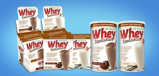 [Review] Whey Fantastic Protein Powder -- All Natural Whey, Dessert-Like…