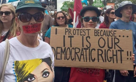 Australian politics  Demonstration against anti-protest laws in Perth PHOTO: ABC   Kosta Rologas 02 May 2016  A trend is emerging in Australia. Governments are criminalising protest with… https://winstonclose.me/2016/05/03/more-new-laws-ban-protest-by-kosta-rologas/