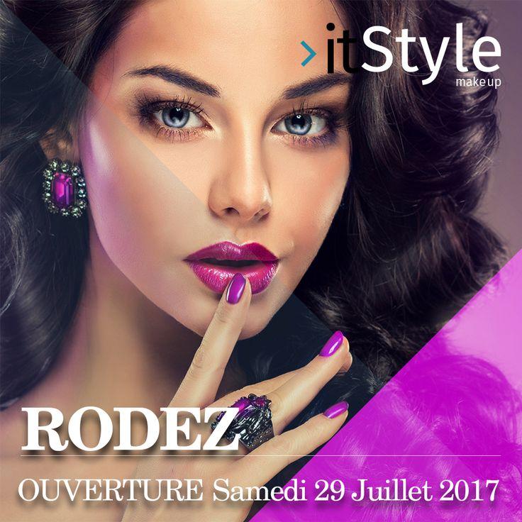 Ouverture Prochainement itStyle Make Up RODEZ  Samedi 29 juillet 2017  au 16, rue du Touat 12000 Rodez..... - #aurillac #itstylegirls #itstylemakeup #itstyle #italianstyle #itstylecosmetics #review #makeup #lipproducts #foundation #blushes #newbrand #newmakeup #bbloggers #denimdaze #maquillage #cosmétiques #bar #ongles  #sourcils #mode #beauté #soins #corps #visage #epilation