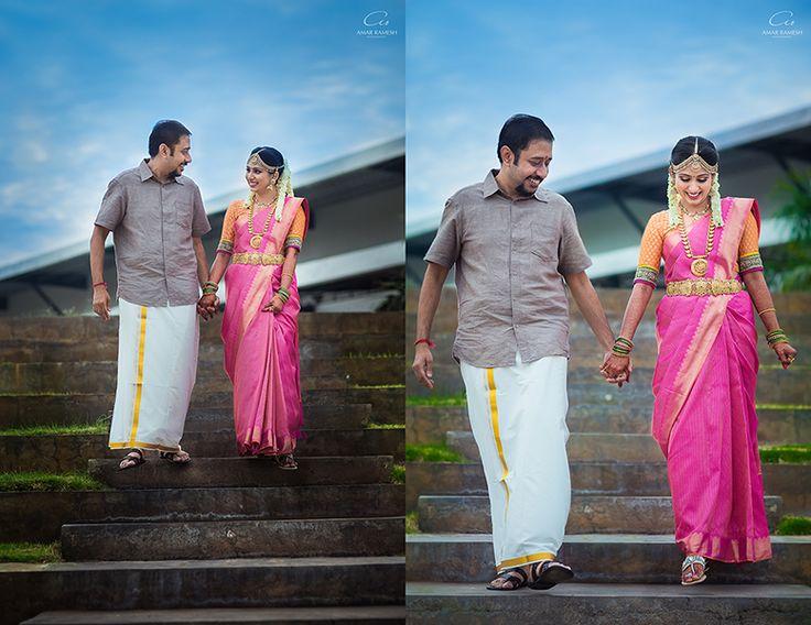 www.amarramesh.com www.facebook.com/... #StudioA #South #Indian #Weddings #indianweddingphotographer #indianweddingphotography #coupleportraits #gounder #Coimbatore #PinkSaree #Flowers