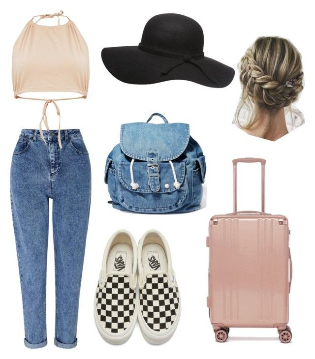 """AirPort"" by giuliaaq on Polyvore featuring Miss Selfridge, Vans, CalPak and Dance & Marvel"