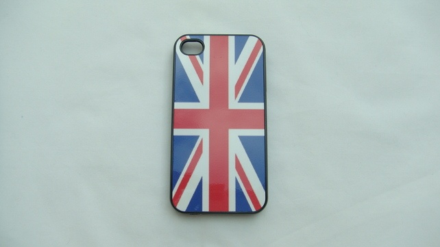 Union Jack Flag Iphone 4 cover  £9.99  ideal for all the team GB fans
