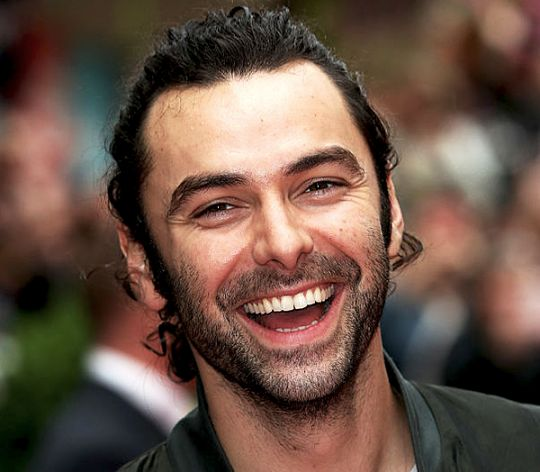 Aidan Turner at the Poldark Series Two Premiere