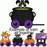 halloween train witch cauldron pnc
