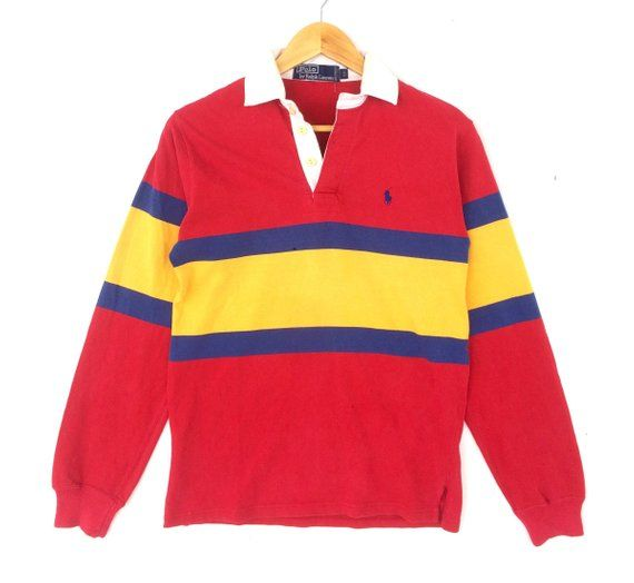 Ralph Multicolor 20Vintage Polo Lauren Small Pony Longsleeve 8vmn0wON