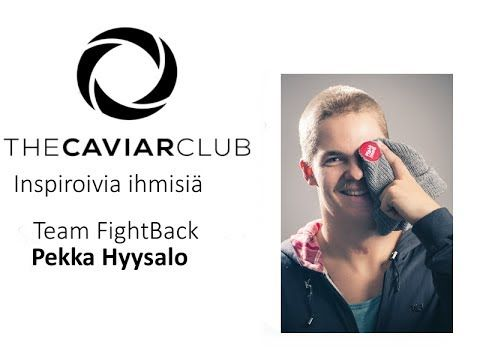 The Caviar Club - Pekka Hyysalo, Team FightBack