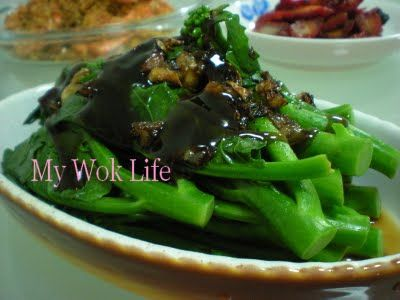 """""""Famous Oyster Sauced Kai-lan vegetable dish now you can cook it at home, easily and deliciously, without any bitter taste!"""" Kailan, also named Chinese broccoli or Chinese kale. Many people like th..."""