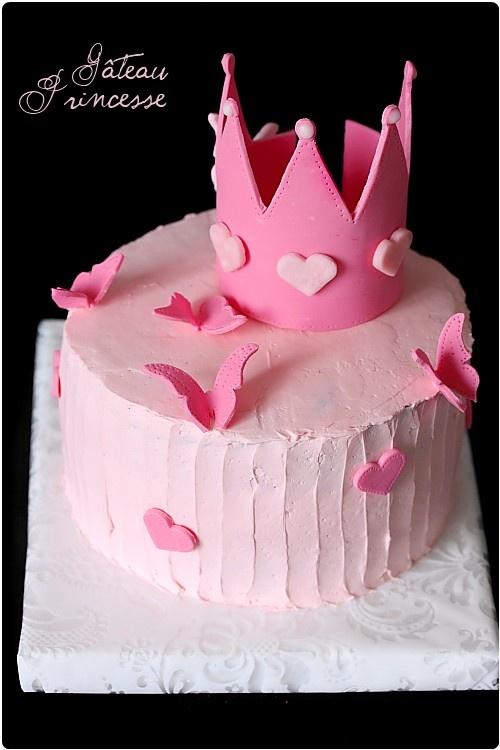 Gâteau de princesse (brownies chocolat, mousse mascarpone et confiture de lait)