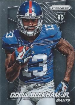 Odell Cornelius Beckham, Jr. (born November 5, 1992) is a wide receiver for the New York Giants. He played college football at LSU, and was drafted by the Giants in the first round of the 2014 NFL Draft. Isidore Newman High School alum.