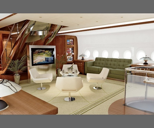 Airbus A380 800 Jet That Edese Doret Designed Private InteriorLuxury