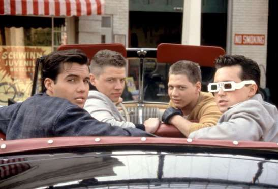"""Billy Zane (left), made his acting debut on """"Back to the ..."""