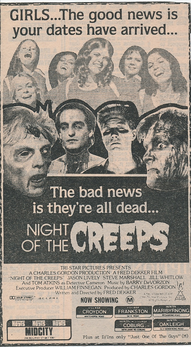 Fred Dekker's highly enjoyable horror comedy. 1987