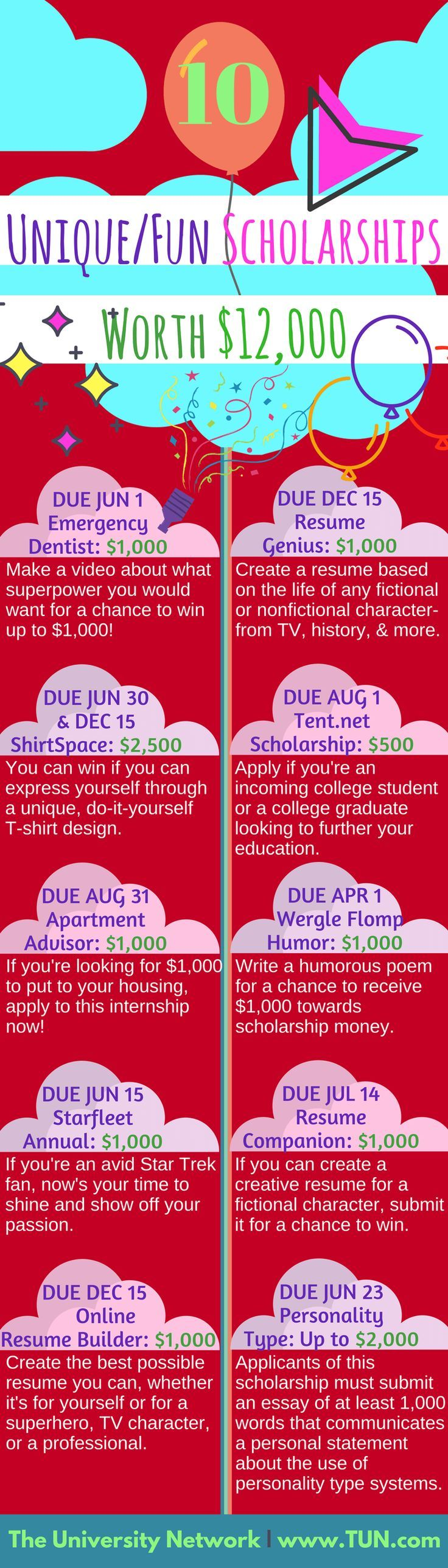1212 Best Scholarships Contest Images On Pinterest Colleges
