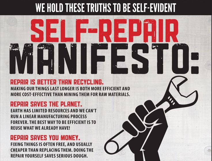 Humanist+Manifesto+2000 | ... with the Maker Movement might recognize the Self-Repair Manifesto