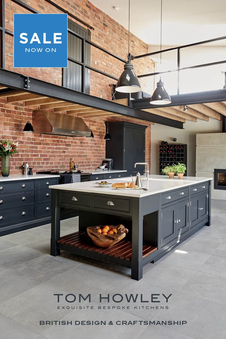 26 best Tom Howley Industrial Style Shaker Kitchen images on Pinterest