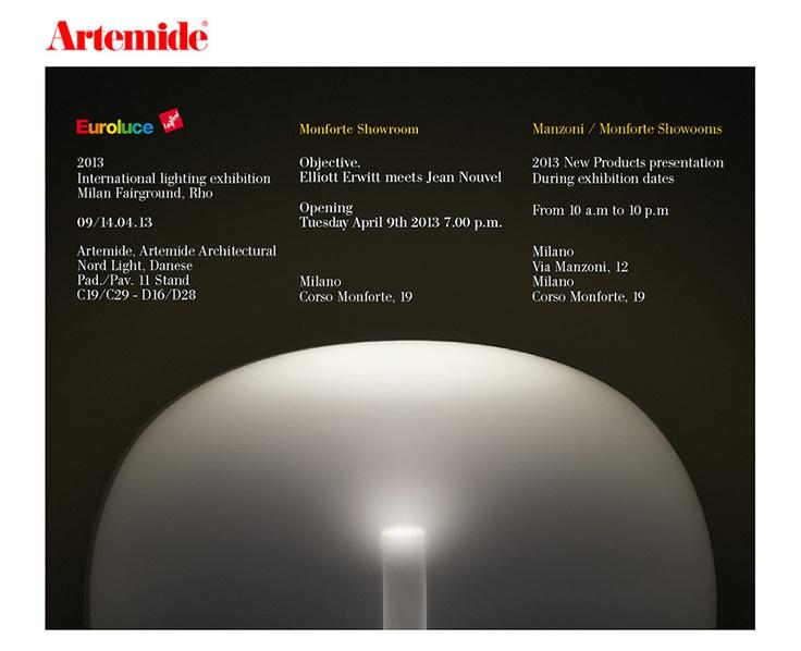 Artemide at Euroluce - invitation
