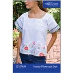 Hankie Pillowcase Shirt Download PDF sewing pattern PDF download from Indygo Junction