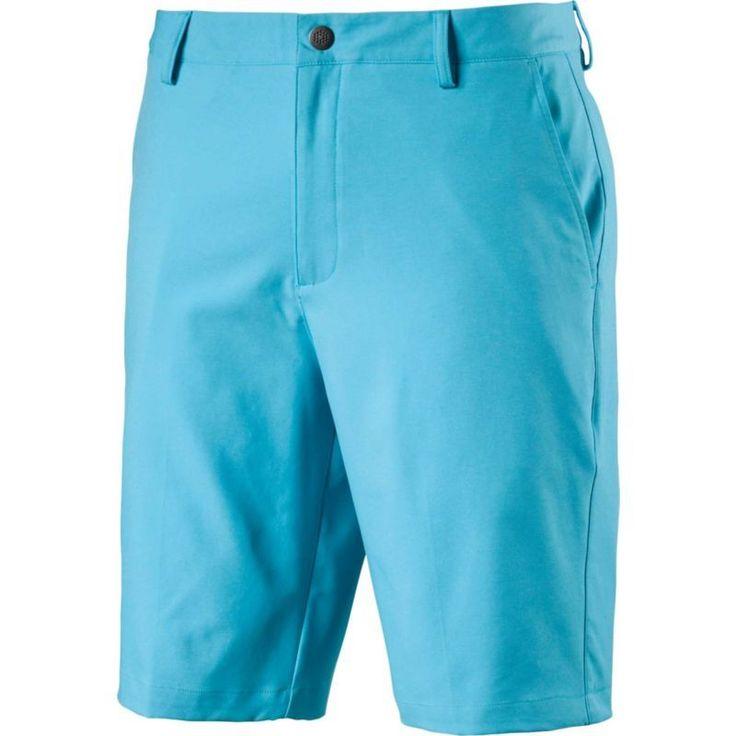 Puma Men's Essential Pounce Golf Shorts, Size: 32, Blue