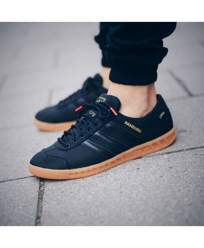 3003dbef35df Adidas Hamburg GTX Black Gum Shoes