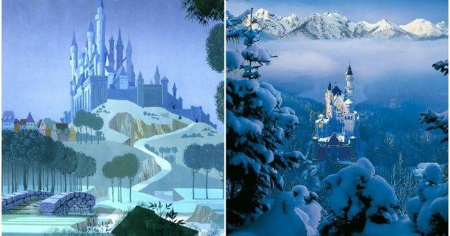 Top 10 des lieux réels qui ont inspirés les Disney (à visiter très bientôt)