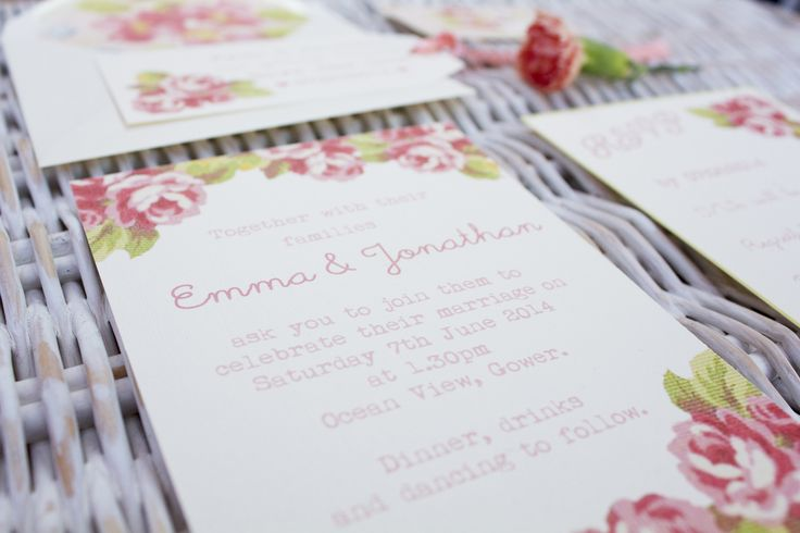 Vintage inspired floral designs by Paper Wedding. www.paperwedding.co.uk Photographs by Michelle Huggleston Photography.