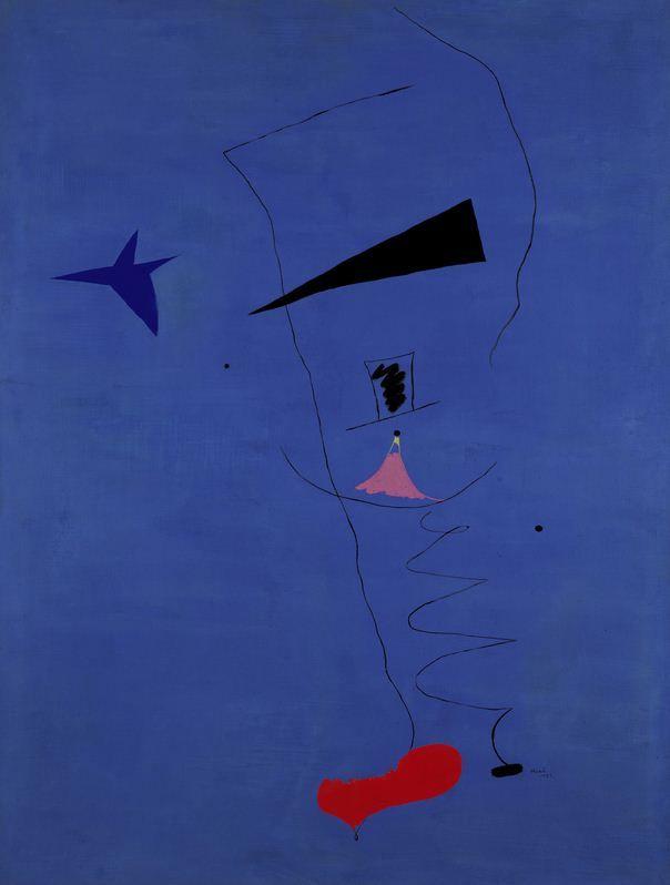 Blue Star, 1927 - Joan Miro - 1200artists.com