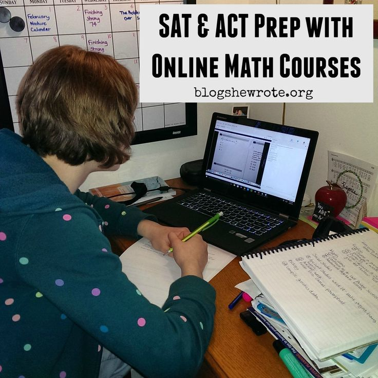 Prepare for college entrance exams with online math courses from Mr.D.