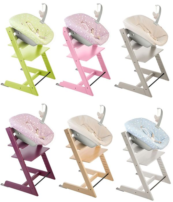 Stokke Tripp Trapp Newborn Set. Now you can use your Tripp Trapp from birth! I seriously don't know how I lived without this for number one.
