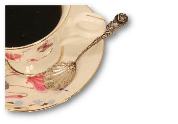 Sugar ShovelSterling Silver Spoon Serving by ClockworkRummage, $10.00