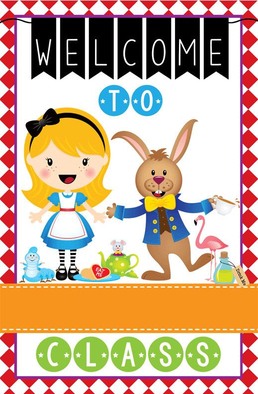 Classroom Welcome Decor : Best alice in wonderland ideas for the classroom images