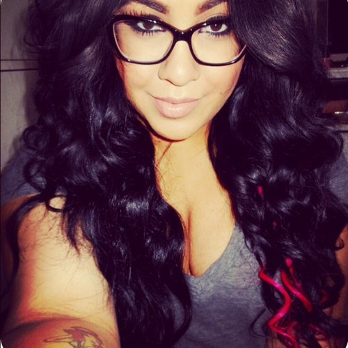 Hey Hot Nerdy Glasses Wearing Baby
