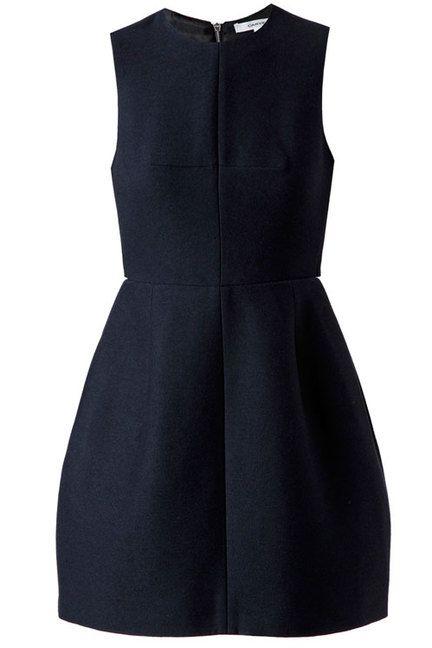 Polished little back dress: Carven Structured Wool Dress