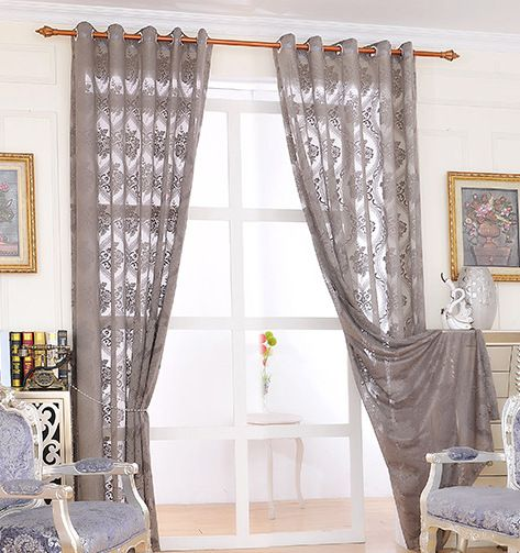 Cheap window curtains and valances, Buy Quality curtains made of beads directly from China window curtains sheer Suppliers: 3571351205975766 Curtain European Roray Luxury Curtains Jacquard Blackout