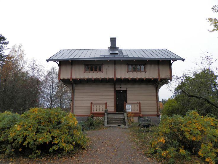 Дом на острове Сеурасаари