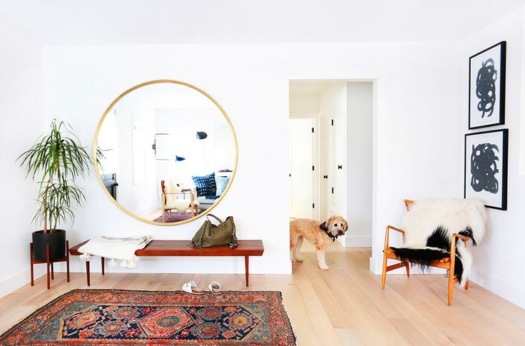 Home+Tour:+A+Hip+Couple's+Fresh+California+Bungalow+via+@MyDomaine // Amber interiors // #clientfreakingfabulous