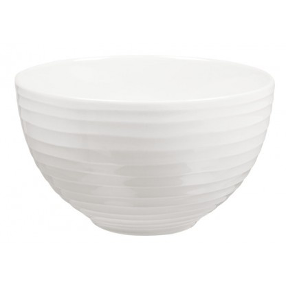 Blond white bowl by Design House Stockholm, design by the Relief Group.
