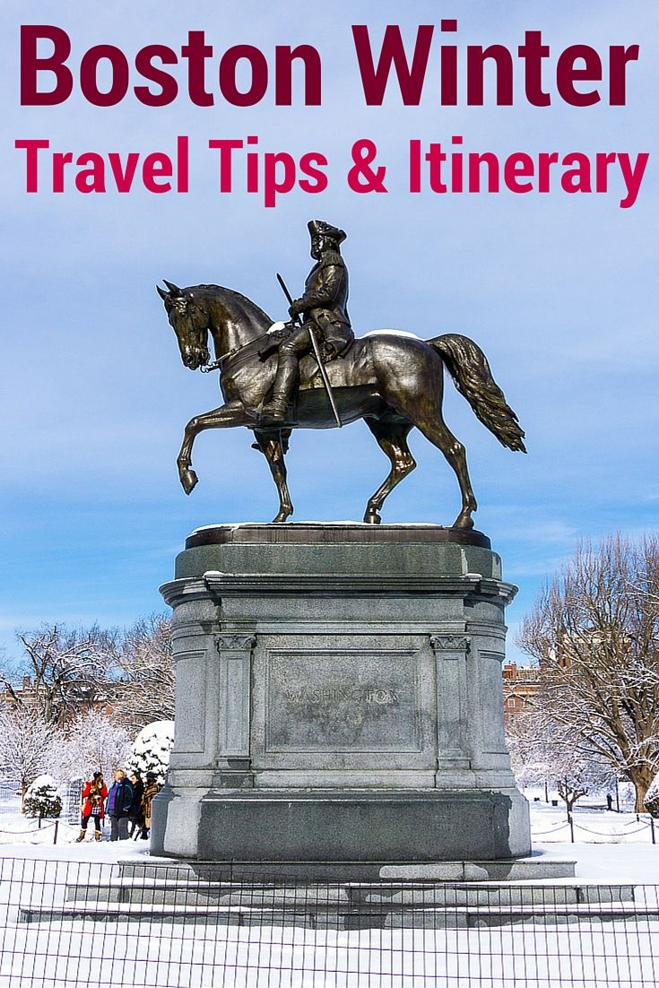 Planning to visit Boston, Massachusetts in winter? Wondering if it's worth it? These travel tips, itinerary suggestion, warnings, and beautiful photos can help!