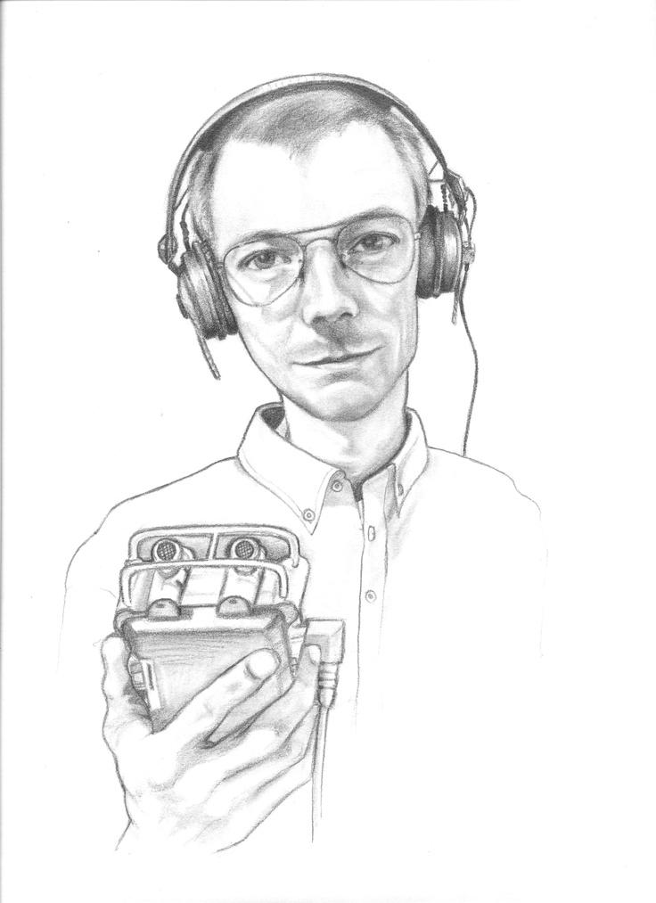 My friend, Danish radio and sound artist, Jan Stricker