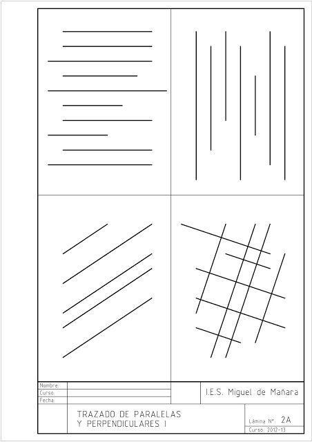 Tecnologia 2º E S O Laminas En Formato A4 Tecnicas De Dibujo Laminas Clases De Dibujo
