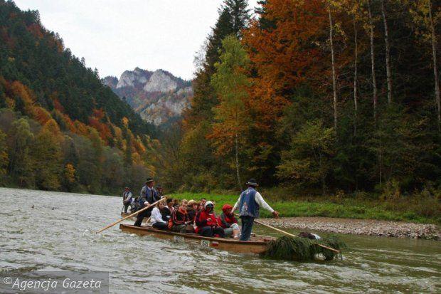Polskie góry na jesień: Pieniny