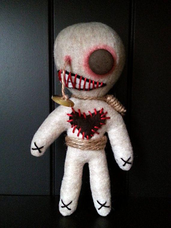 Handmade Voodoo Doll Gory Gummy
