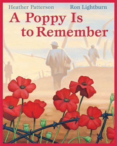 A Poppy is to Remember, a great book. Love it... http://www.amazon.ca/dp/0545999812/ref=cm_sw_r_pi_awd_3wZDsb04ZFT4Z