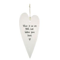 No Set Path Heart Ornament