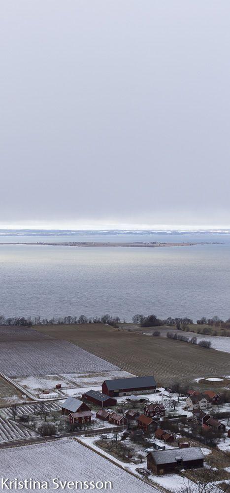 Utsikten från Brahehus samlar jag många bilder av till boken. Här i januari 2017. http://www.tomatsallad.nu/mellan-stockholm-och-goteborg/