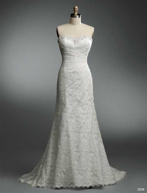 Balletts Bridal - 19248 - Wedding Gown by Alfred Angelo - W/G A/A 2208  - Lace