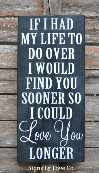 Chalkboard Art Wood Wedding Sign Painted Anniversary Gift Couples Sign  Master Decor Christmas Gift Love Quote