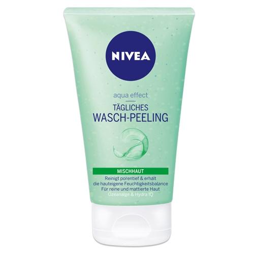 NIVEA Tägliches Wasch-Peeling. http://www.nivea.de/Produkte/gesichtspflege/Aqua-Effect/Fettige-Haut-bis-Mischhaut/Tagliches-Waschpeeling #nivea #face #cleaning #peeling