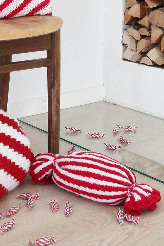 Marianne-karkki pikkutyyny Novita Nalle | Novita knits